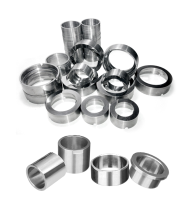 carbide sleeves and seal rings