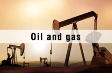 application-oil and gas