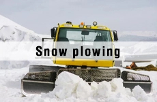 application-snow plowing